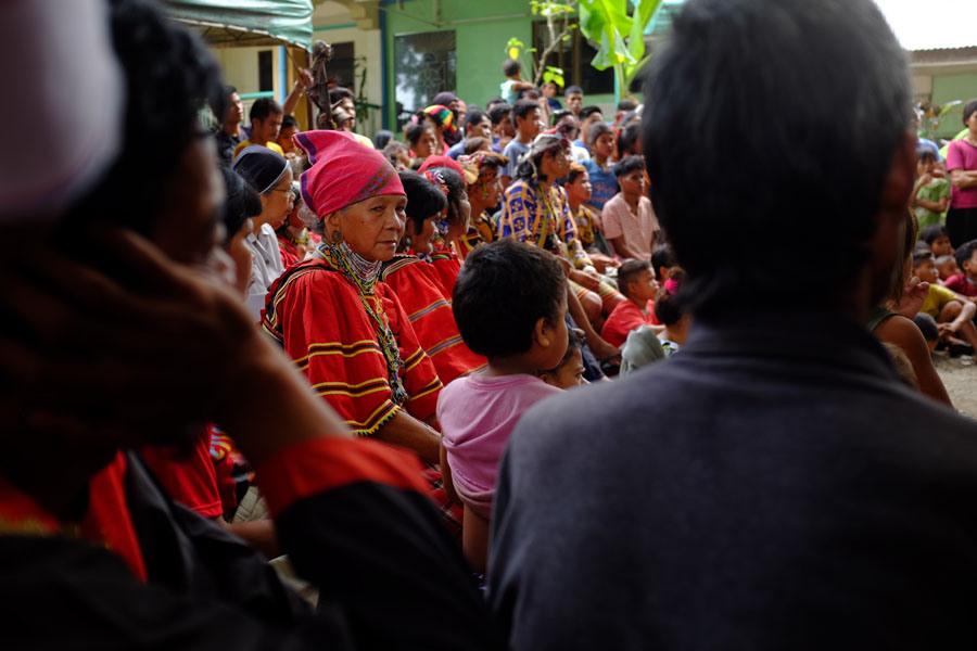 Mga Lumad bakwit ng UCCP Haran sa Davao City: Nangangamba pa rin. File Photo: Karl Castro